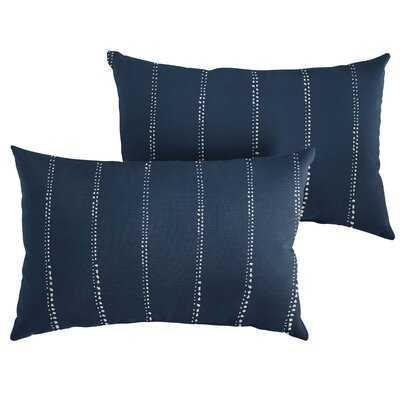 Woodbranch Indoor/Outdoor Lumbar Pillow (Set of 2) - Birch Lane