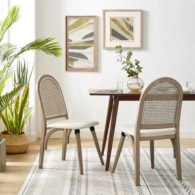 Bamboo Frame Dining Chair - Wayfair