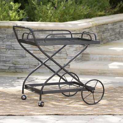 Polak Outdoor Bar Serving Cart - Wayfair