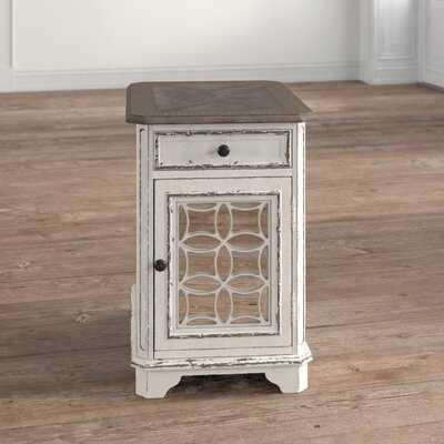Jovani End Table with Storage - Wayfair