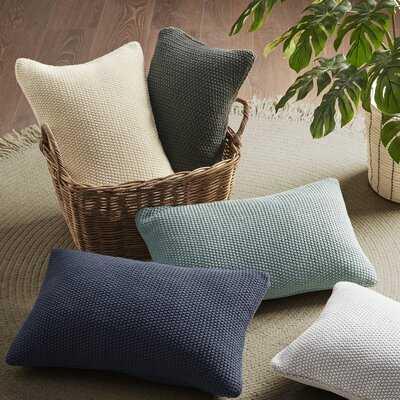 Caronni Knit Rectangular Pillow Cover - Wayfair