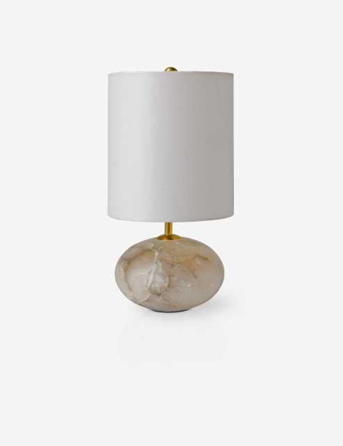 Hagen Table Lamp, Alabaster - Lulu and Georgia