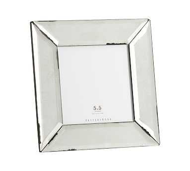 """Antiqued Mirrored Picture Frame, 5"""" x 5"""" - Pottery Barn"""