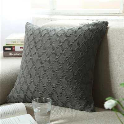 Bryker Woods Square Cotton Pillow Cover - Wayfair