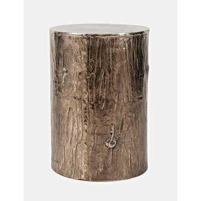 Hollo Drum End Table - Wayfair