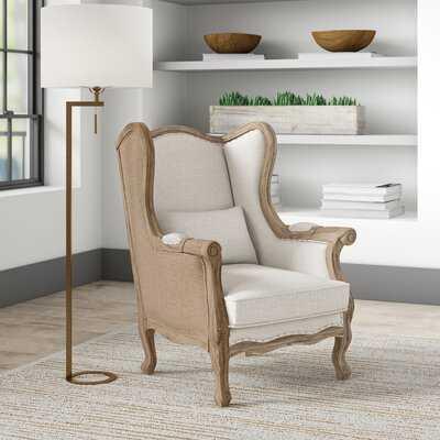 Lorinda Wingback Chair - Wayfair
