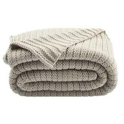 Ares Knit Cotton Throw - AllModern
