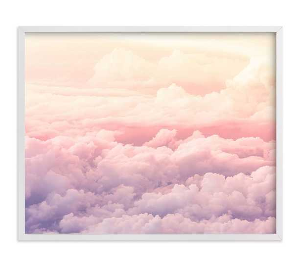 Minted(R) Cloudscape Wall Art by Rebecca Rueth, 16x20, White - Pottery Barn Kids