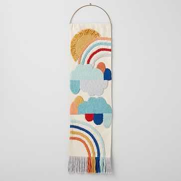 Rainbow Woven Tapestry, Multi, WE Kids - West Elm