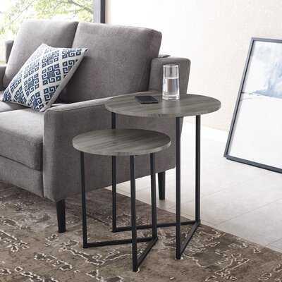 Mcnett 2 Piece Nesting Tables - Wayfair