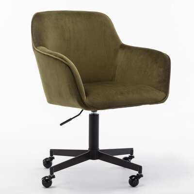 Tsuguko Velvet Task Chair - AllModern