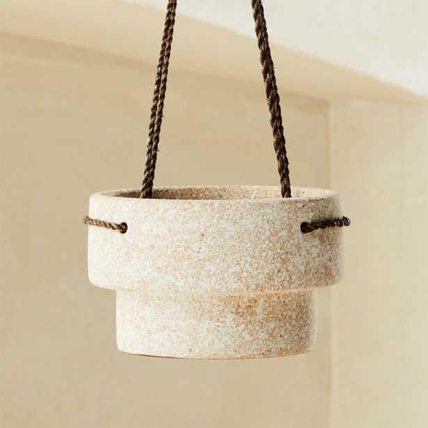 Speckled Hanging Planter - CB2