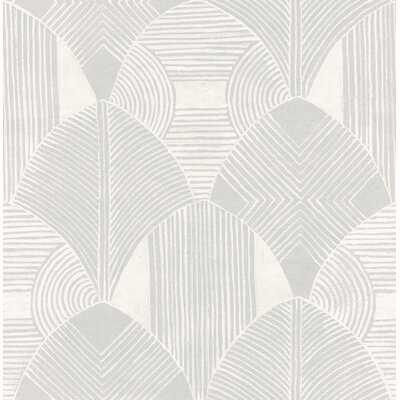 """Westport Geometric 33' L x 20.5"""" W Wallpaper Roll - AllModern"""