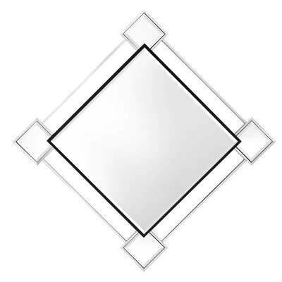 Perronette Modern and Contemporary Beveled Wall Mirror - Wayfair