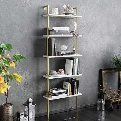 """Innis 68.5"""" H x 23.6"""" W Ladder Bookcase - Wayfair"""