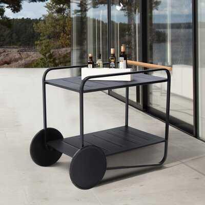 Jad Outdoor Bar Serving Cart - Wayfair