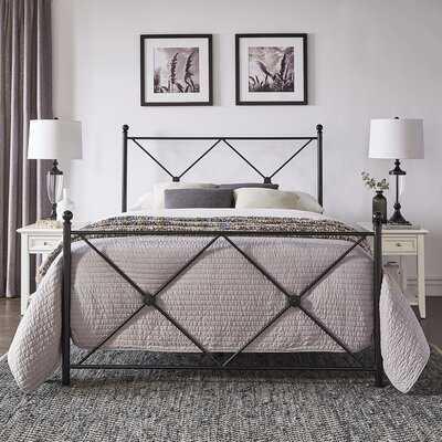 Fernwood Metal Queen Standard Bed - Wayfair