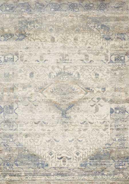 "Loloi Revere REV-06 Ivory / Blue 9'-6"" x 12'-5"" - Loma Threads"