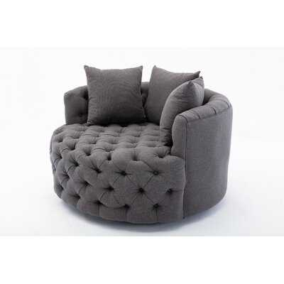 Frailey Swivel Barrel Chair - Wayfair