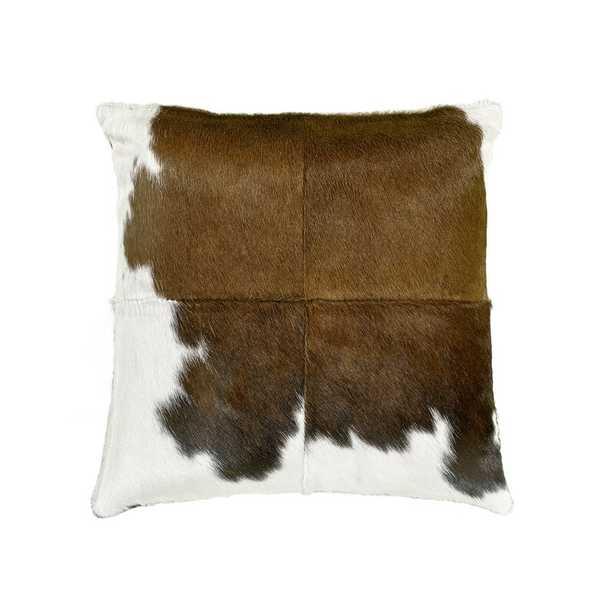 "Saddlemans Special Feathers Throw Pillow Size: 18"" x 18"" - Perigold"