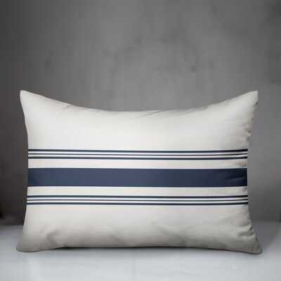 Conard Coastal Blue Striped Rectangular Pillow - Wayfair