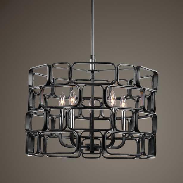 Becton 5 Light Modern Pendant - Hudsonhill Foundry