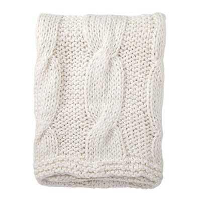 Forsan Chunky Knit Throw - AllModern