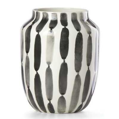 Brush Strokes Stripe Bouquet Table Vase - Wayfair
