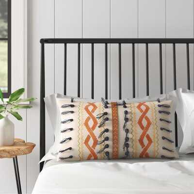 Carrillo Decorative Cotton Lumbar Pillow - AllModern