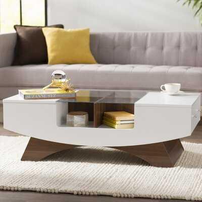 Madilynn Coffee Table with Storage - Wayfair