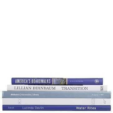 ColorStak Modern Book, Ocean - West Elm