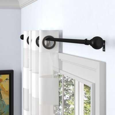 Desjardins Single Curtain Rod and Hardware Set - Birch Lane