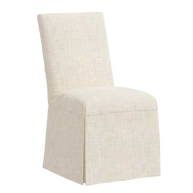 Magnolia Slipcover Dining Chair, Talc - Cove Goods