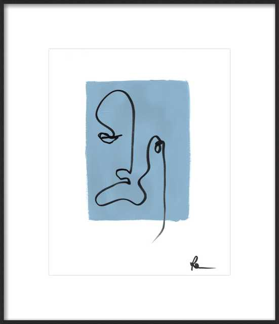 Just Moody by Polly Mann for Artfully Walls - Artfully Walls
