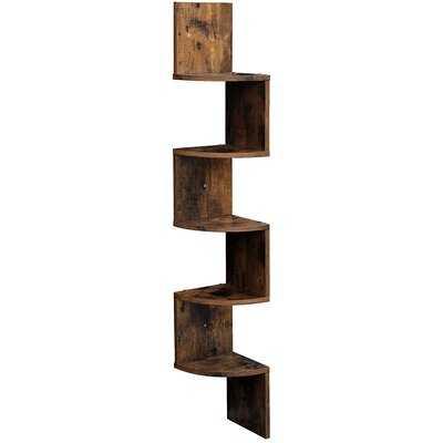 Lundquist Corner Bookcase - Wayfair