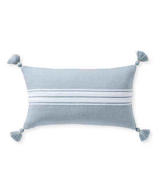 Addie Stripe Tassel Pillow Cover - Serena and Lily