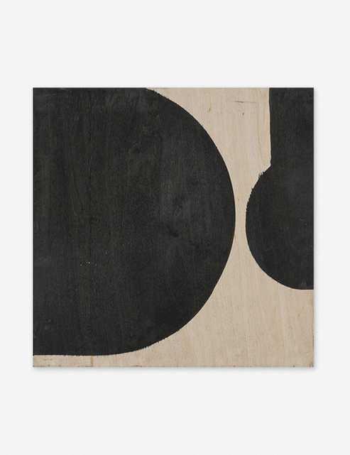 "Motion Study No. 12 Print by Karlos Marquez, 20"" x 20"", black frame - Lulu and Georgia"