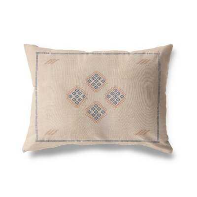 Aviva Cotton Indoor / Outdoor Geometric Lumbar Pillow - Wayfair