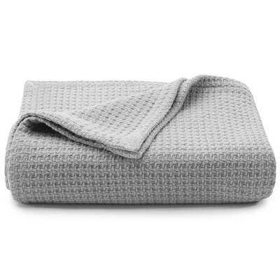 Coastal Cotton Blanket - Birch Lane