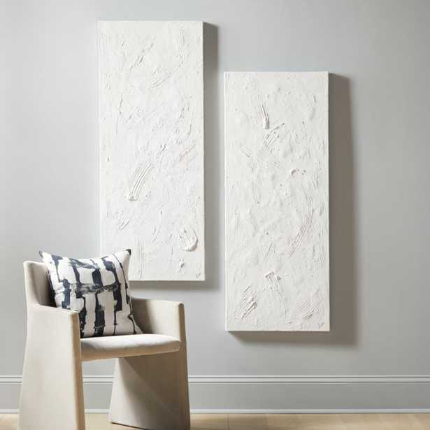 Purl Paintings Set of 2 - CB2