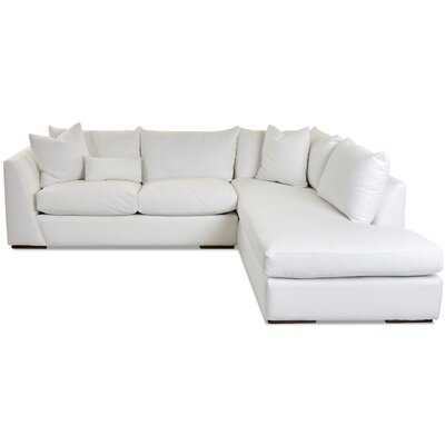 """Alisa 115"""" Sectional Collection/Left Hand Facing (fabric color shown on swatch) - Birch Lane"""