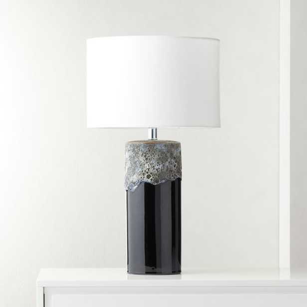 Cadiz Glazed Ceramic Table Lamp - CB2