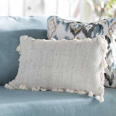 Charleena Cotton Down Lumbar Pillow - Wayfair