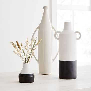 Shape Studies Vase, Jug, Tall Bottle, Bud Vase, Set of 3 - West Elm