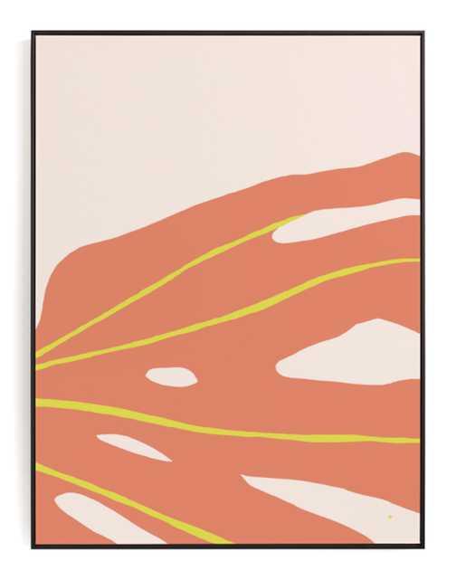 Monstera Abstract Art Print - Minted