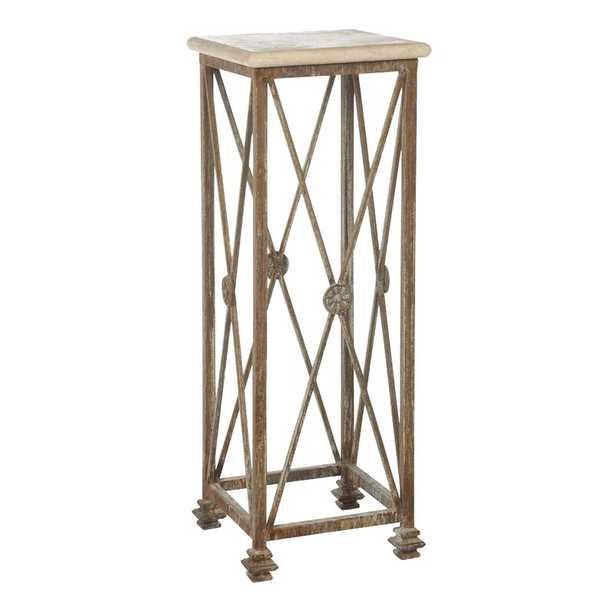 ellahome Medallion Pedestal Plant Stand - Perigold