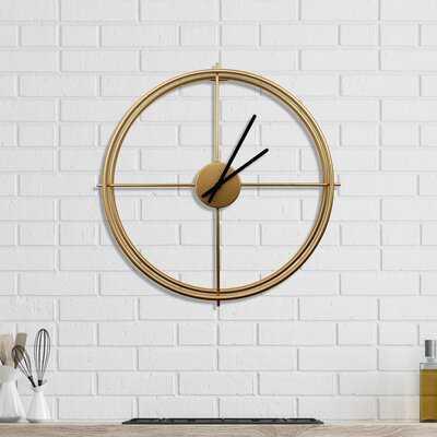 Arissa Wall Clock - Wayfair
