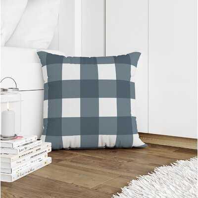 Byrne Gingham Throw Pillow - Wayfair