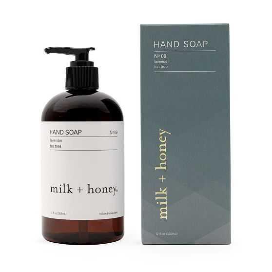 Hand Soap, No. 09, Lavender & Tea Tree, 12 oz. - West Elm