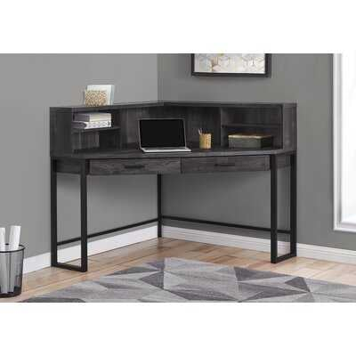 Funderburg Corner Desk with Hutch - Wayfair